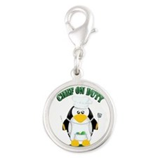 Chef on Duty Penguin Charms