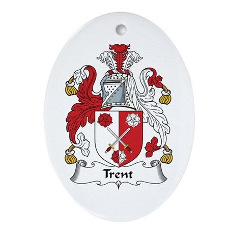 Trent Oval Ornament