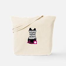 Prescription For Stress Retail Therapy Tote Bag