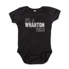 Its A Wharton Thing Baby Bodysuit