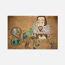 Shakespeare Illuminated Magnets