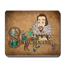 Shakespeare Illuminated Mousepad