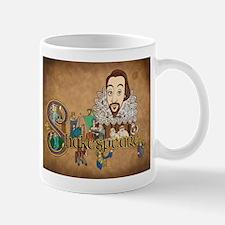 Shakespeare Illuminated Mugs