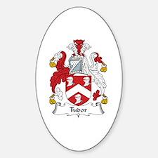 Tudor Oval Bumper Stickers