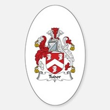 Tudor Oval Decal