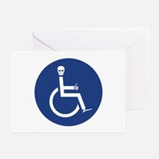 Wheelchair Greeting Cards (Pk of 10)