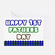 First Fathers Day Greeting Cards