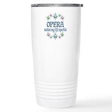 Opera Sparkles Stainless Steel Travel Mug