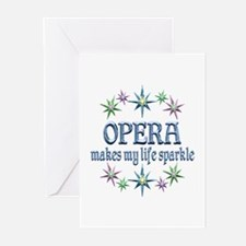 Opera Sparkles Greeting Cards (Pk of 10)