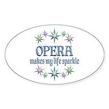 Opera Sparkles Decal
