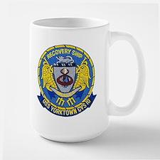 USS Yorktown Apollo 8 Large Mug