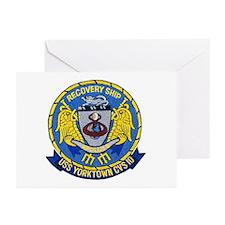 USS Yorktown Apollo 8 Greeting Cards (Pk of 10)