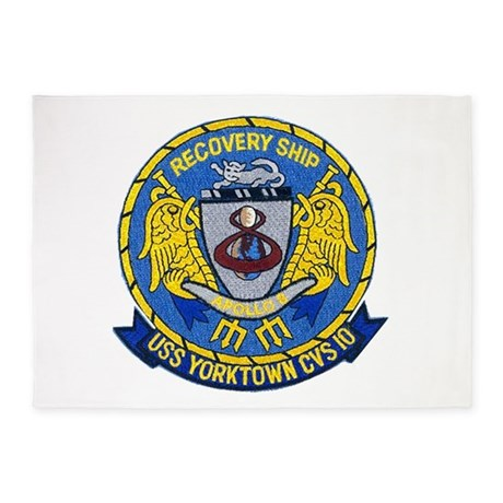 USS Yorktown Apollo 8 5'x7'Area Rug