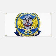USS Yorktown Apollo 8 Banner