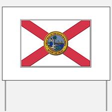 Flag of Florida Yard Sign