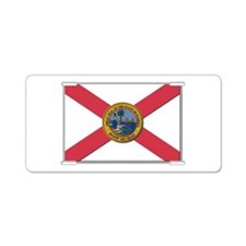 Flag of Florida Aluminum License Plate