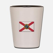 Flag of Florida Shot Glass