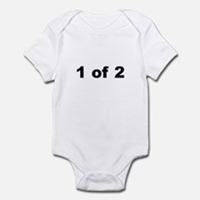 1 of 2 infant bodysuit/onesie