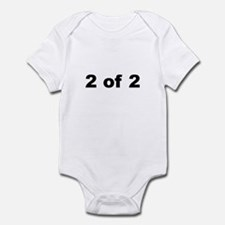 2 of 2 infant bodysuit/onesie