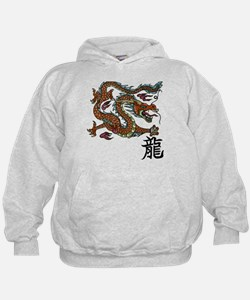 Cool Asian Dragon Hoodie Jacket
