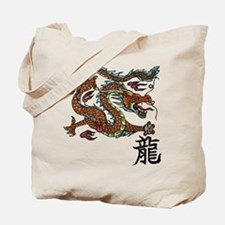 Asian Dragon Tote Bag
