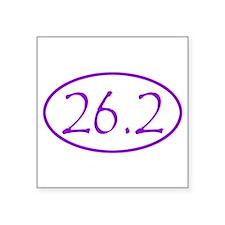 marathon-dark violet Sticker