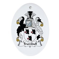 Trumbull Oval Ornament