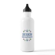 Line Dancing Sparkles Water Bottle