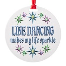 Line Dancing Sparkles Ornament