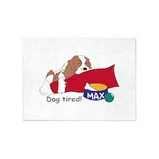 Dog Tired! 5'x7'Area Rug