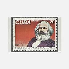 Karl Marx 1983 Death Centennial Rectangle Magnet