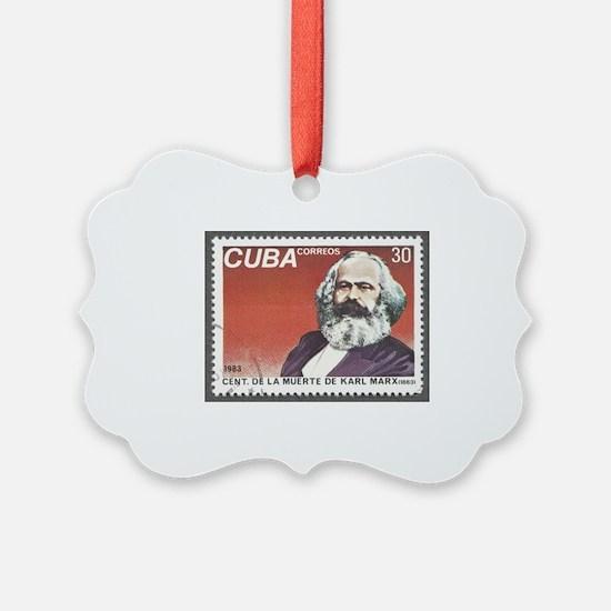 Karl Marx 1983 Death Centennial Ornament