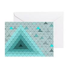 Geometric Dreams Greeting Card