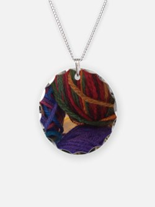 Yarn Balls Necklace