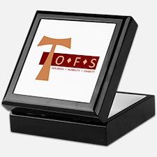 OFS Secular Franciscan Keepsake Box