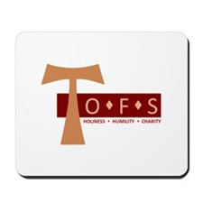 OFS Secular Franciscan Mousepad