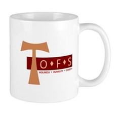 OFS Secular Franciscan Small Mug