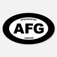 Afghanistan: I Served Decal