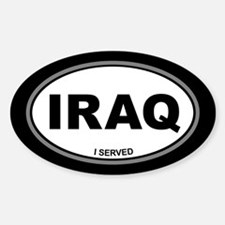 Iraq: I Served Decal