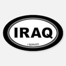 Iraq: I Served Sticker (Oval)