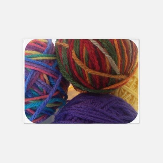 Yarn 5'x7'Area Rug