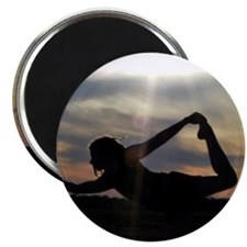 Sunset Yoga Magnet