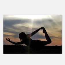 Sunset Yoga Postcards (Package of 8)