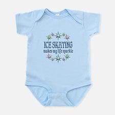 Ice Skating Sparkles Infant Bodysuit