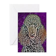 Poodle Fun Greeting Card