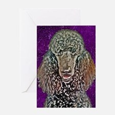Poodle Fun Greeting Card
