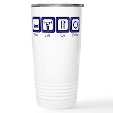 Powerlifting Travel Mug