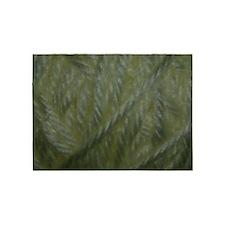 White Yarn 5'x7'Area Rug