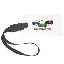 SPEED DEMON Luggage Tag
