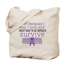 Fight to Survive Lupus Tote Bag